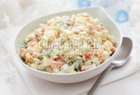 Зимний салат - вкусно и полезно