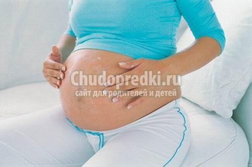 Уход за кожей во время беременности или как бороться с растяжками