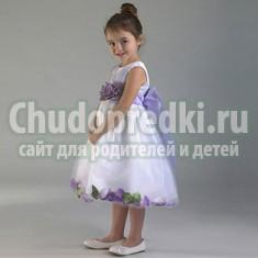 Праздничные платья для девочек: правила выбора