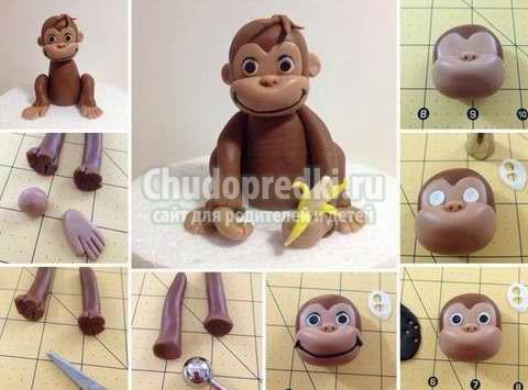 Новогодняя обезьяна. Отличные идеи с фото
