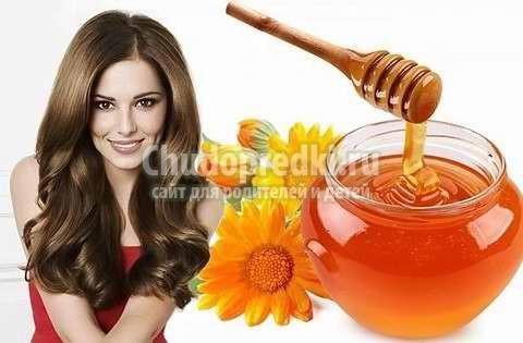 Домашние маски для волос с медом