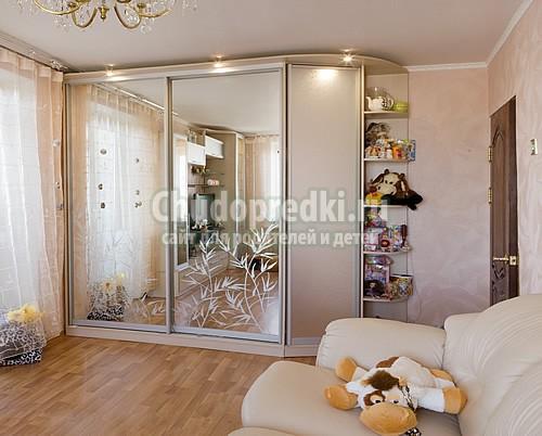 Шкаф-купе в интерьере вашего дома