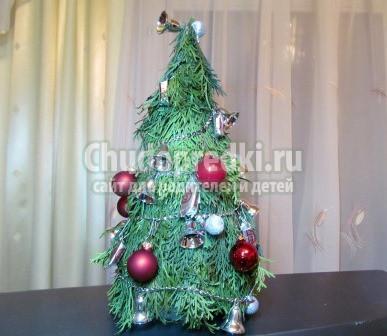 Как сделать новогоднюю елку своими руками: подробные идеи с фото