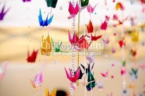 Птица из бумаги