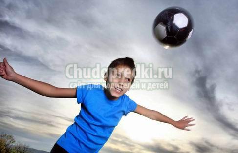Спорт для детей: осенью