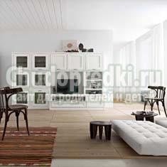 Мебель в современном стиле для гостиной: модерн, техно и хай-тек