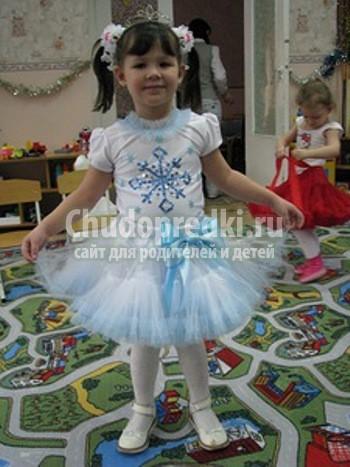 Новогодний костюм снежинки - Вязание - Страна Мам