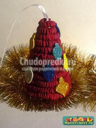 Новогодние игрушки на елку своими руками: мастер-классы с подробными фото