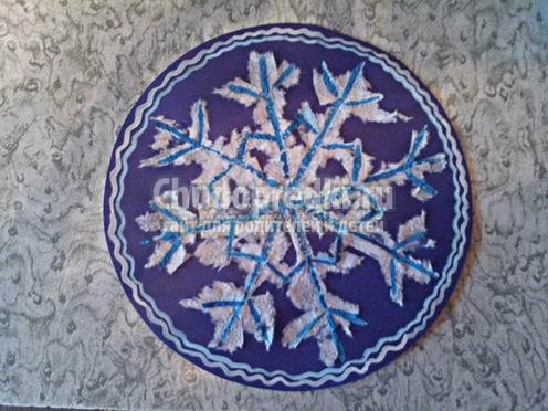 Снежинки для детей. Делаем в садик и школу