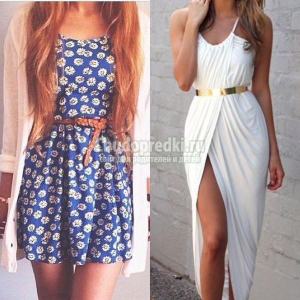 Нежные платья фото летние