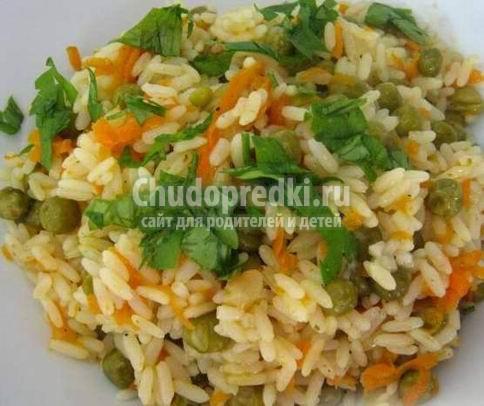 Рис с овощами: рецепты на любой вкус