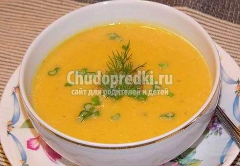Суп из овощей. Польза, калорийность и варианты приготовления