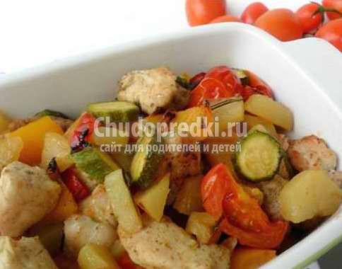 Филе с овощами. Лучшие рецепты с фото