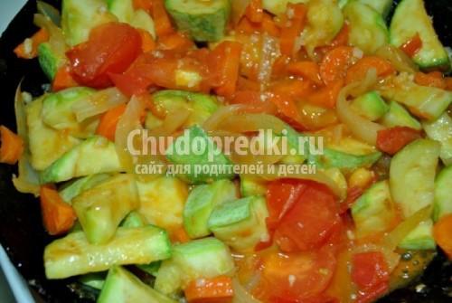 Феттучине с рагу из цесарки и белых грибов, пошаговый рецепт с фото