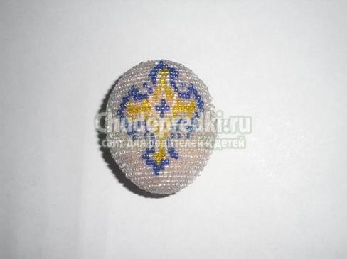 Пасхальные яйца из бисера. Оригинальные идеи хендмейда