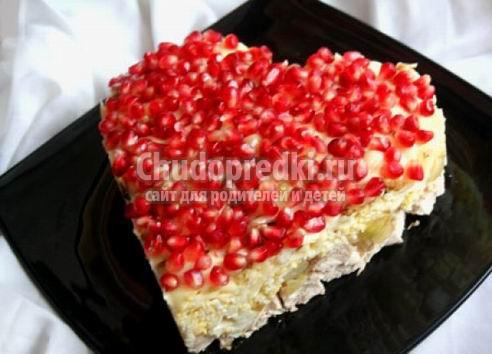Салаты на день рождения: простые рецепты, фото