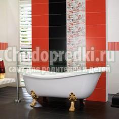Особенности отделки ванной комнаты плиткой
