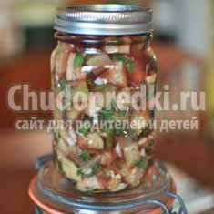 Баклажан с чесноком на зиму: подробные рецепты с фото