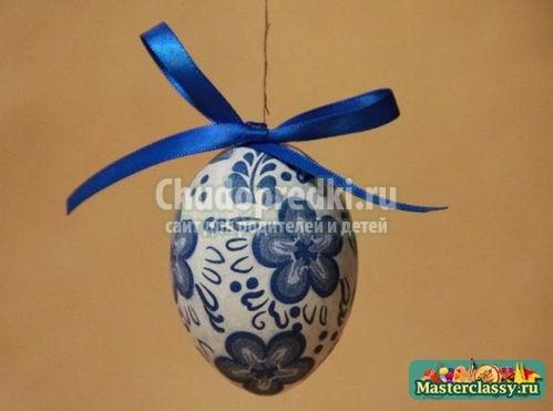 Пасхальное яйцо из бумаги: ТОП-10 идей с подробными фото