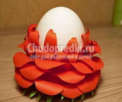 Подставка для яйца своими руками: лучшие идеи с фото