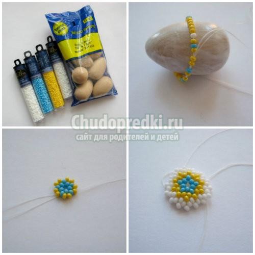 Яйца из бисера: простые и сложные схемы плетения