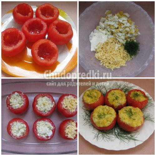 Помидоры в духовке: лучшие рецепты с фото