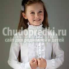 Школьные блузки для девочек: правила выбора