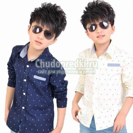 Детские рубашки для мальчиков: самые популярные виды