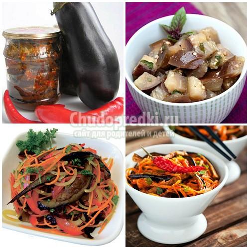 Баклажаны по-корейски. Самые вкусные рецепты на зиму