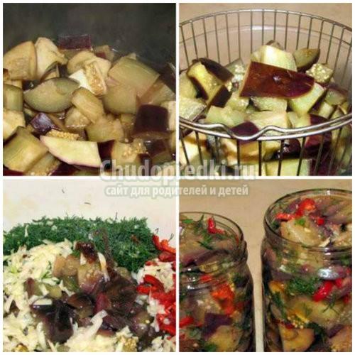Заготовка баклажанов на зиму: лучшие рецепты с фото