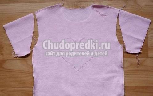 Как сшить трикотажную футболку для девочки? Мастер-класс с фото