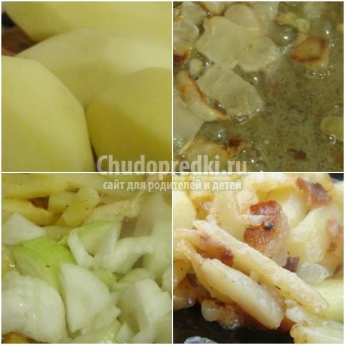 Картошка с луком: как приготовить? Лучшие рецепты с фото