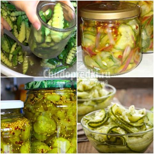 Салат из огурцов на зиму «Пальчики оближешь»: золотые рецепты с фото