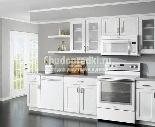 Цвет кухонного гарнитура. Подбираем с умом