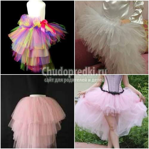 Красивая юбка-пачка для девочки. Пошаговые мастер-классы с фото