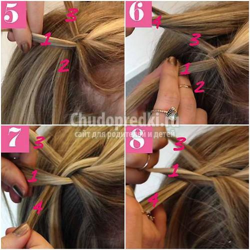 Как плести косы: ТОП-10 идей с фото