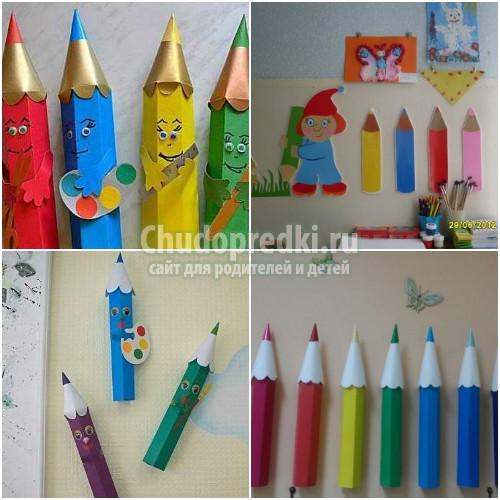 Как украсить детский сад своими руками: фото и идеи оформления