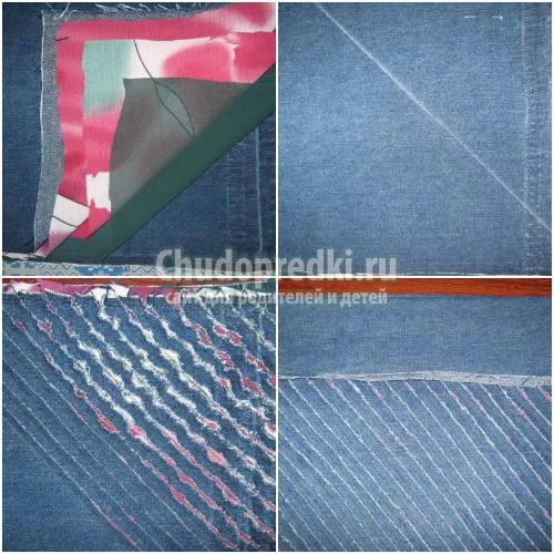 Сумка из джинсы своими руками: выкройки и мастер-классы по пошиву