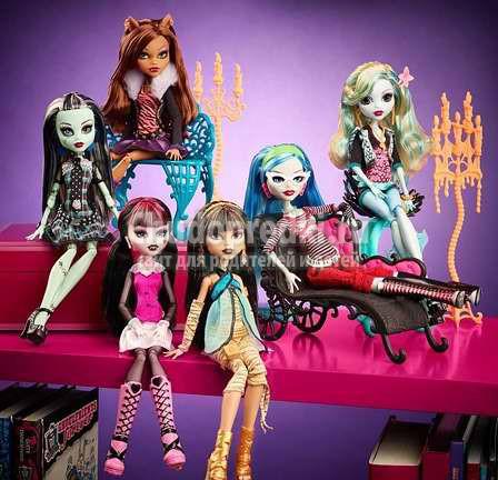 Почему «милые» куклы Monster High так нравятся современным детям?