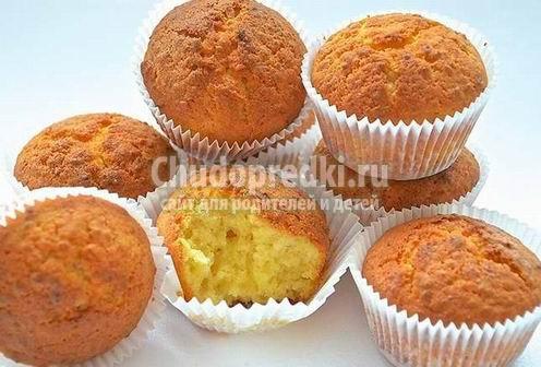 Готовим вкусные и полезные десерты: овсяные кексы