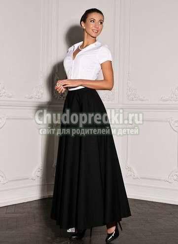 Фасоны длинной юбки и особенности фигуры
