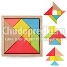Танграм для дошкольников. Польза и правила игры