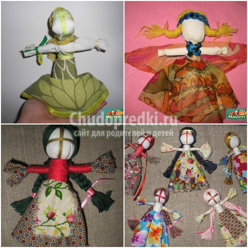 Куклы-обереги своими руками. Мастер-классы по созданию, фото и идеи