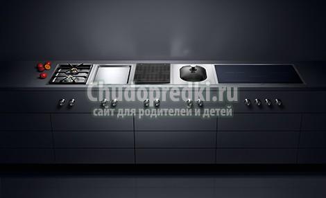 Как составить идеальную плиту Gaggenau?