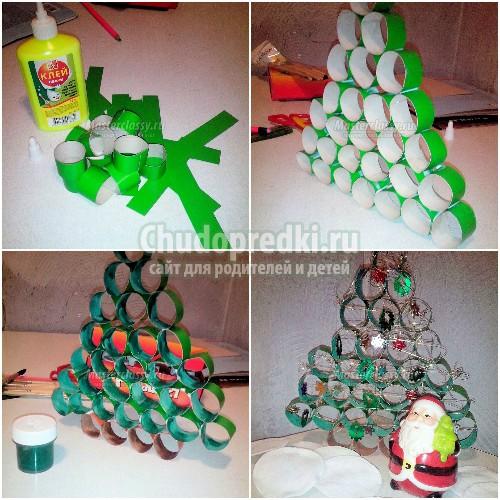 Как сделать новогоднюю игрушку елку своими руками. Пошаговые мастер-классы с фото