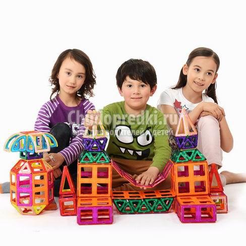 Детский развивающий конструктор. Самые популярные разновидности