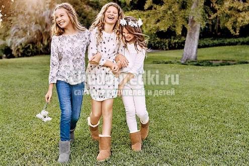 Модные ли сегодня угги для подростков?