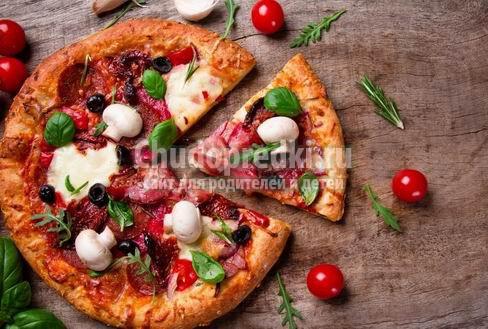 Как готовят пиццу в различных странах