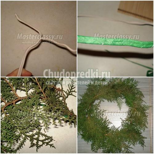 Рождественский венок: мастер-классы на любой вкус