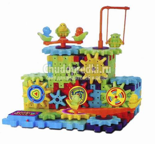 Конструктор детский пластмассовый. Самые популярные разновидности